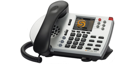 ShoreTel 265 IP phone silver color 265 voip telephone