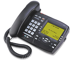 Vista 470 Meridian phone Aastra Screenphone Nortel telephone large display