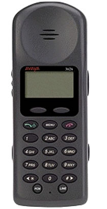 Avaya 3626 wireless IP phone for industrial environments