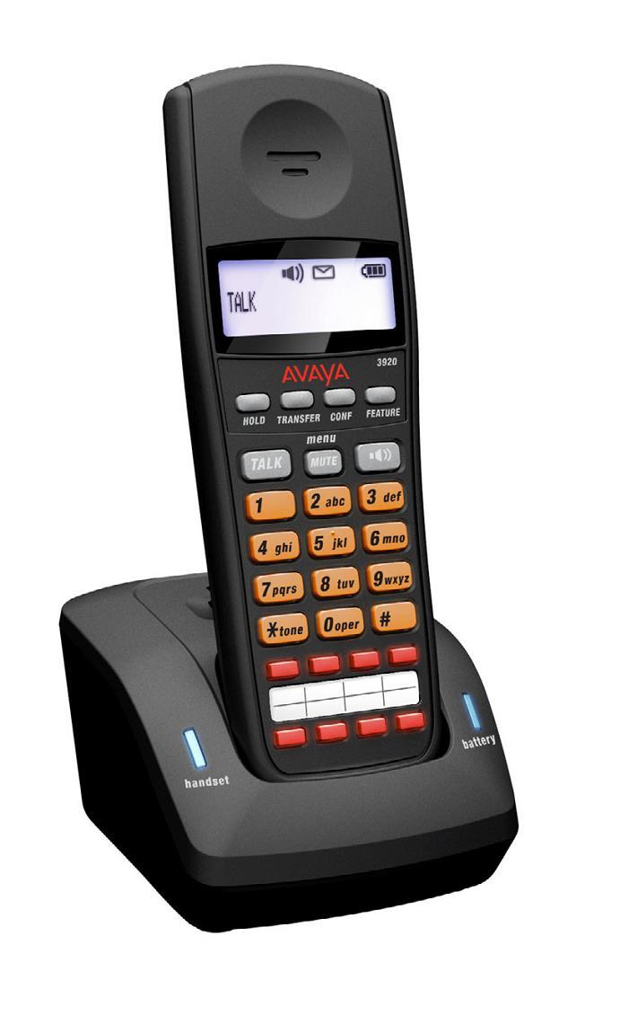 Avaya 3920 Cordless Phone For Ip