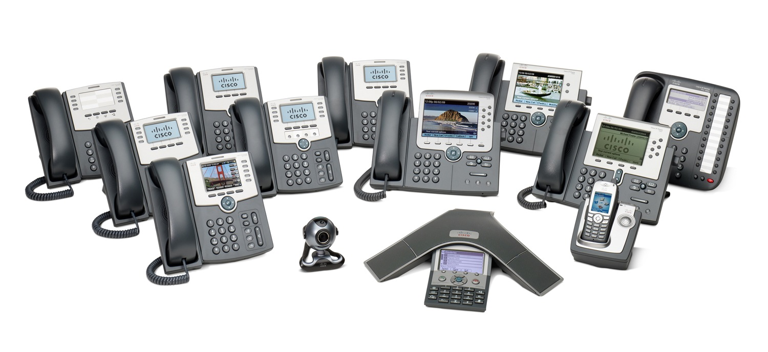 Cisco IP phones 6900 7900 8900 9900 Unified IP SPA500 SPA300 SIP telephones Series VoIP