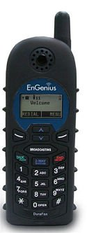 EnGenius DuraWalkie 1X and DuraWalkie PRO 2-way radio only handset for EnGenius DuraFon 1X long range cordless wireless phone system