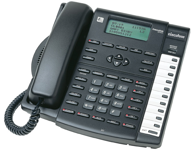 Intellitouch Execufone 420i 4 Line Phone