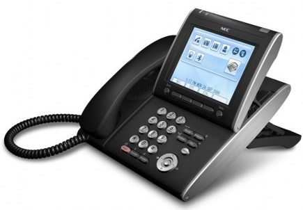 NEC SV8100 IP phones Univerge VoIP telephones terminals