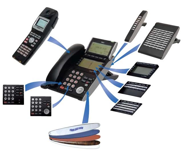 NEC SV8100 Desktop Digital Telephones DT330 DT310 DT730