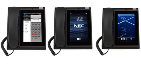 NEC UT880 tablet phone for SV9100