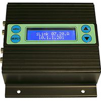 iLink LCD Message on Hold Player and messaging system