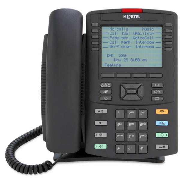 Nortel IP phones 1100 Series VoIP telephones 1200 series i2000 series Voice over IP phones