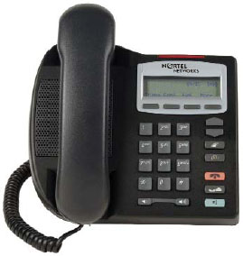 Nortel i2001 IP phone phase 2 VoIP telephone