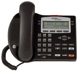 Nortel i2002 IP phone phase 2 2002 VoIP telephone