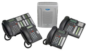 Nortel BCM 50 with digital phones