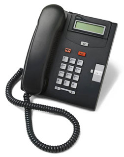Nortel Norstar T7100 phone 7100 charcoal (black) telephone