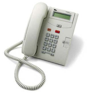Nortel Norstar T7100 phone 7100 platinum color telephone