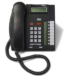 Nortel Norstar T7208 phone 7208 charcoal (black) telephone headset