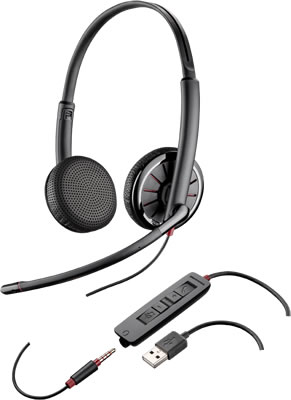Plantronics Blackwire C325-M USB phone headset