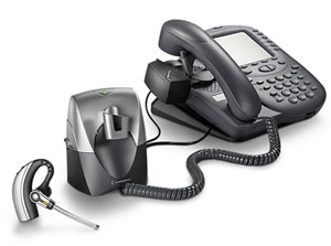 Plantronics CS70 wireless DECT headset