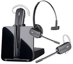 Plantronics CS545-XD wireless phone headset