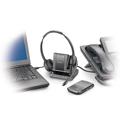 Plantronics Savi W720 wireless headset UC setp unified communications telephone headset