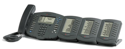 Polycom IP 601 with 3 IP Expansion Modules