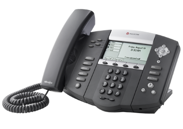 Polycom IP phone SoundPoint IP 550 desktop SIP telephone