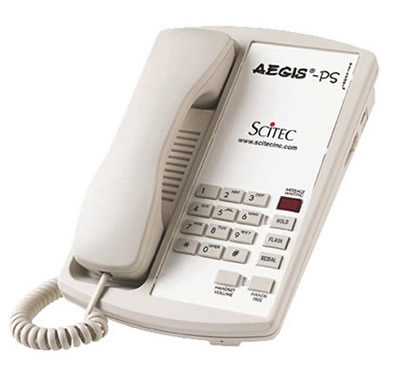 Scitec Aegis PS hotel telephones phones telephone