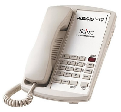 Scitec Aegis TP hotel telephones phones telephone