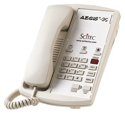 Scitec Aegis 3S hotel telephones phones telephone