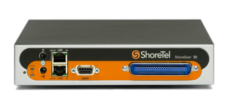 ShoreTel Voice Switch 50 Analog Trunking