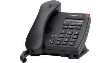 ShoreTel 110 IP phone black color 110 voip telephone