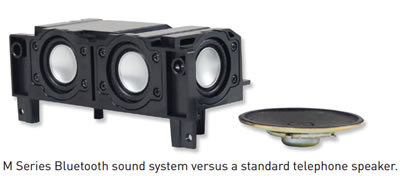 M Series Bluetooth sound system vs regular speaker