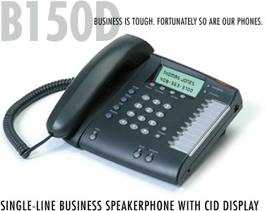 B150D 1-line PBX phone set single line pbx phone sets telephone universal Meridian Mitel Avaya NEC
