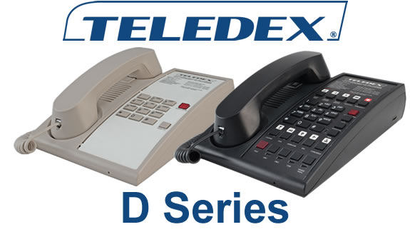 Teledex D Series Hotel Phones