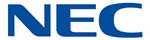 NEC logo - business phone systems and phones.