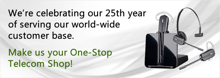 We're celebrating our 25th year of providing service to our worldwide clientele.